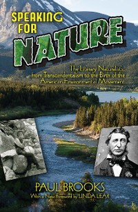 Cover Speaking for Nature