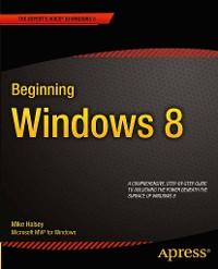 Cover Beginning Windows 8
