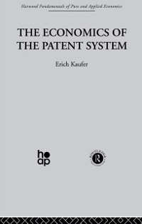 Cover Economics of the Patent System