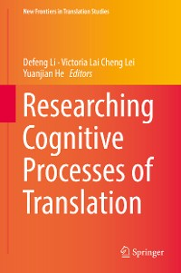 Cover Researching Cognitive Processes of Translation