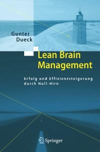 Cover Lean Brain Management