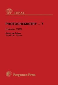 Cover Photochemistry - 7