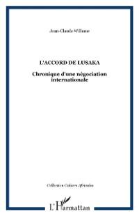 Cover Accord de lusaka l'