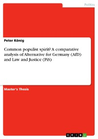 Cover Common populist spirit? A comparative analysis of Alternative for Germany (AfD) and Law and Justice (PiS)