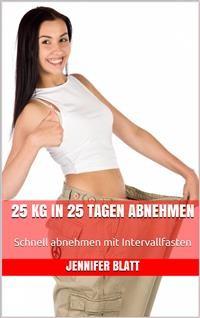 Cover 25 kg in 25 Tagen abnehmen