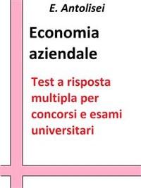 Cover Economia aziendale. Quesiti a risposta multipla