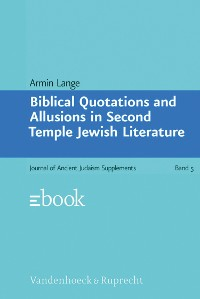 Cover Biblical Quotations and Allusions in Second Temple Jewish Literature