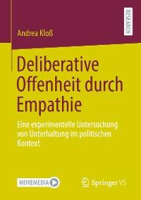 Cover Deliberative Offenheit durch Empathie