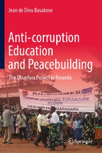 Cover Anti-corruption Education and Peacebuilding