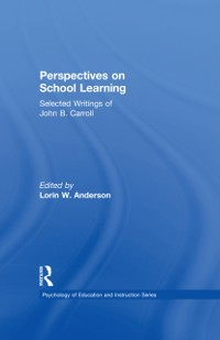Cover Perspectives on School Learning