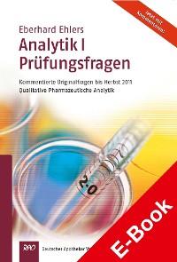 Cover Ehlers, Analytik I - Prüfungsfragen