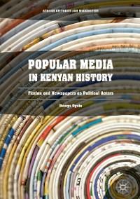 Cover Popular Media in Kenyan History