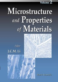 Cover Microstructure and Properties of Materials