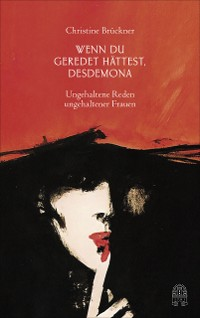 Cover Wenn du geredet hättest, Desdemona