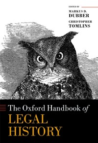 Cover Oxford Handbook of Legal History