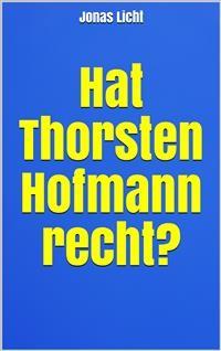 Cover Hat Thorsten Hofmann recht?