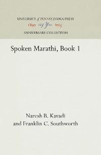 Cover Spoken Marathi, Book 1