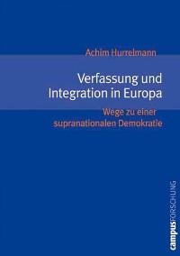 Cover Verfassung und Integration in Europa