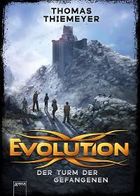 Cover Evolution (2). Der Turm der Gefangenen