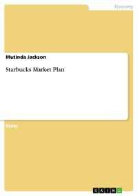Cover Starbucks Market Plan