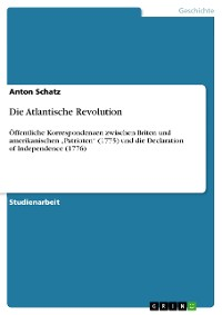 Cover Die Atlantische Revolution