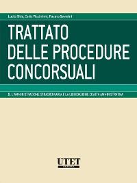 Cover L'amministrazione straordinaria e la liquidazione coatta amministrativa - volume 5