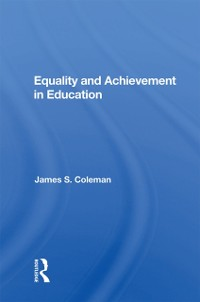 Cover Equality And Achievement In Education