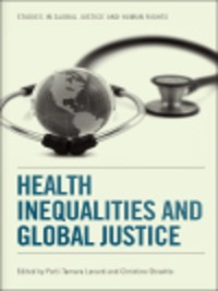 Cover Health Inequalities and Global Justice