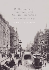 Cover D. H. Lawrence, Transport and Cultural Transition