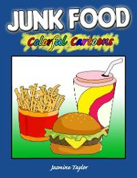Cover Junk Food Colorful Cartoons