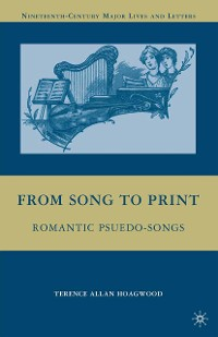Cover From Song to Print