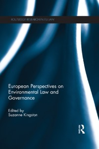 Cover European Perspectives on Environmental Law and Governance