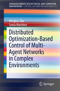 Cover Distributed Optimization-Based Control of Multi-Agent Networks in Complex Environments