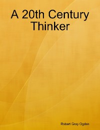 Cover A 20th Century Thinker