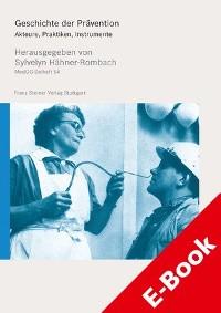 Cover Geschichte der Prävention