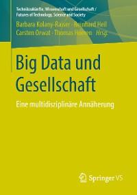 Cover Big Data und Gesellschaft