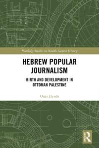 Cover Hebrew Popular Journalism