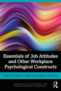 Cover Essentials of Job Attitudes and Other Workplace Psychological Constructs