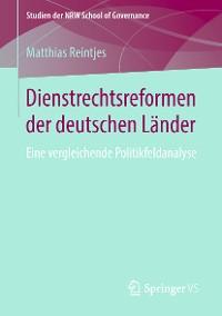 Cover Dienstrechtsreformen der deutschen Länder
