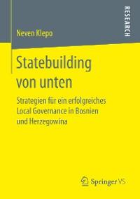 Cover Statebuilding von unten