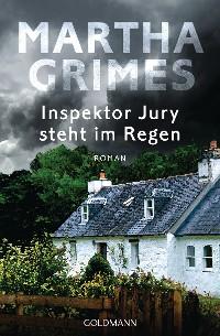 Cover Inspektor Jury steht im Regen