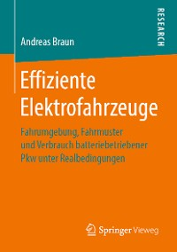 Cover Effiziente Elektrofahrzeuge