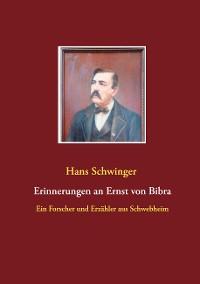 Cover Erinnerungen an Ernst von Bibra