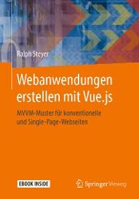 Cover Webanwendungen erstellen mit Vue.js