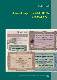 Cover Anmerkungen zu Made in Germany