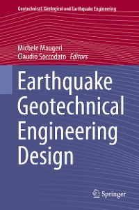 Cover Earthquake Geotechnical Engineering Design