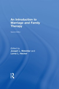 Cover Introduction to Marriage and Family Therapy
