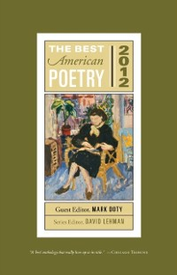 Cover Best American Poetry 2012