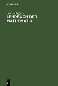 Cover Lehrbuch der Mathematik
