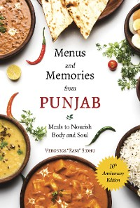 Cover Menus and Memories from Punjab